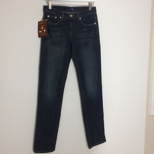 NWT 7 For all Mankind Straight Leg jeans 27